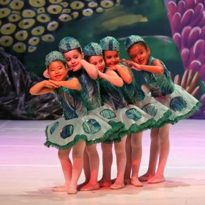 Ballet para crianças aos sábados